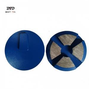 3″ Terrco Diamond grinding pad with redi-lock backing