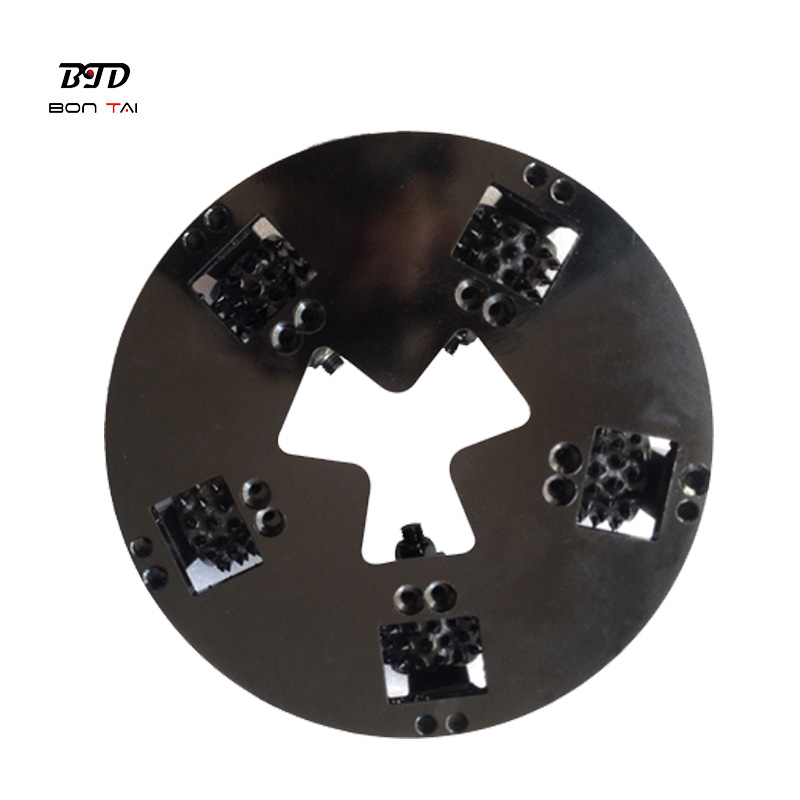 Good Quality Diamond Floor Grinding Plate - HTC Diamond Bush Hammer Roller Plate – Bontai