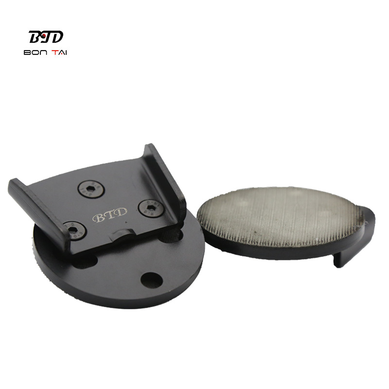 PriceList for Trapezoid Diamond Concrete Grinding Disc Pad - 3″ Ez Change HTC Resin Pad Adaptor – Bontai Featured Image