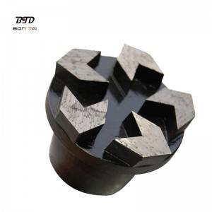PD74 Arrow segments diamond grinding plug