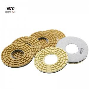 Well-designed Htc Polishing Pad - 4″ Resin Diamond Polishing Pads for Klindex grinders – Bontai