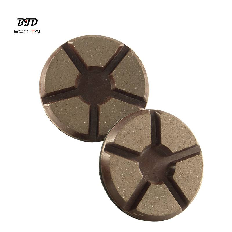 PriceList for Resin Polishing Pad - 3″ Transition pad diamond copper bond polishing pads for concrete – Bontai