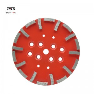 10inch 250mm Concrete Floor Diamond Grinding Disc for Blastrac Grinder