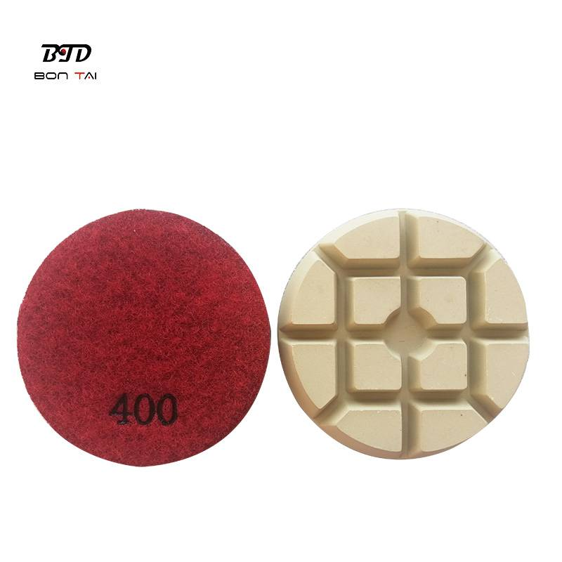OEM China Resin Bond Polishing Pad - 3 inch sharp dry diamond polishing pucks for concrete – Bontai