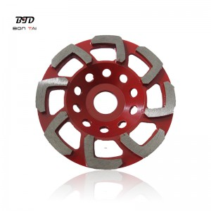 L Shape Abrasive Diamond Grinding Cup Wheels for Concrete