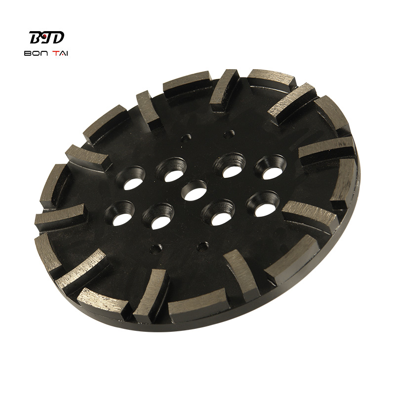 10inch 250mm Concrete Floor Diamond Grinding Disc for Blastrac Grinder Featured Image