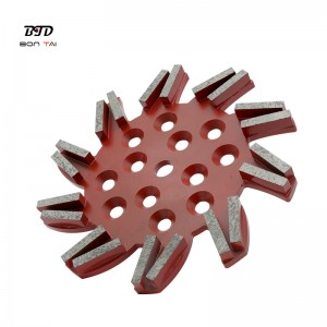 10 Inch 250mm Super Aggressive Diamond Grinding Disc for Concrete Floor