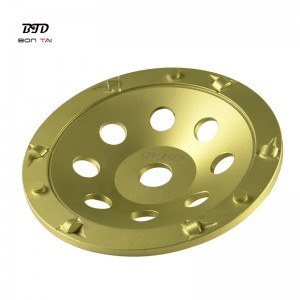 7inch 180mm PCD Diamond Grinding Cup Wheels for Epoxy Coating Removal