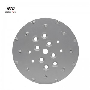 10″ 250mm Concrete Floor Grinding Plate PCD Grinding Disc