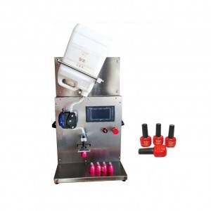 Wholesale Price China Electromagnetic Induction Aluminum Foil Sealing Machine - digital control Nail polish filling machine  – BRENU