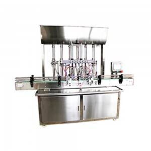 Auto Liquid Paste Filling Machine with more head