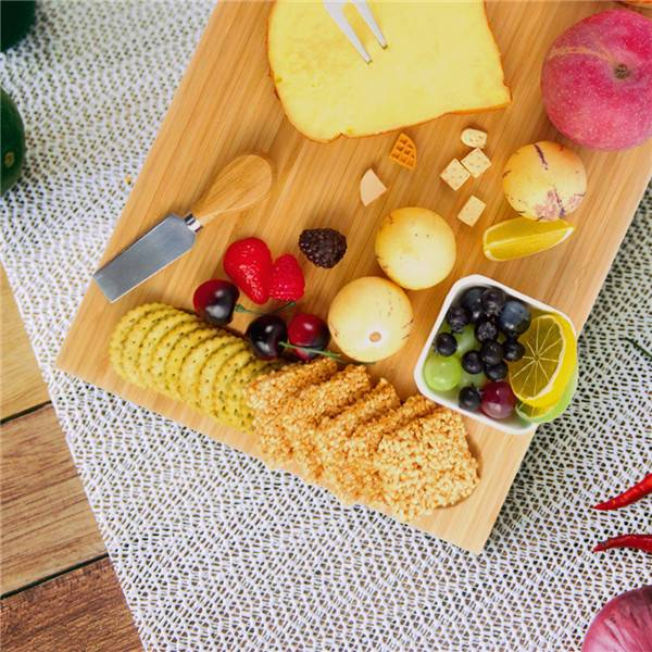 OEM Factory for Cheese Board Pizza - Wholesale Large Customize Bamboo Wooden Cheese Board Bridge Style Cheese Board and Knife Set cheese Board Housewarming Gift Wedding Gift Engagement Gift Anniversary Gift – Bridge Style