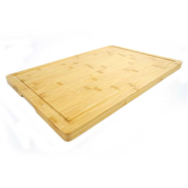 2018 China New Design Cutting Board With Trays - Wholesale Premium Organic Bamboo Chopping Board Drip Groove  Extra Large Size Cutting Board 45cm x 30cm x 2cm. Best for Meat, Vegetables and Cheese. Professional Grade for Strength and Durability – Bridge Style