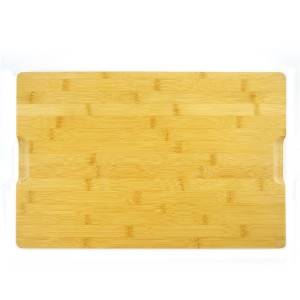 New Arrival China Reversible Bamboo Cutting Board - Wholesale Premium Organic Bamboo Chopping Board Drip Groove  Extra Large Size Cutting Board 45cm x 30cm x 2cm. Best for Meat, Vegetables and Che...
