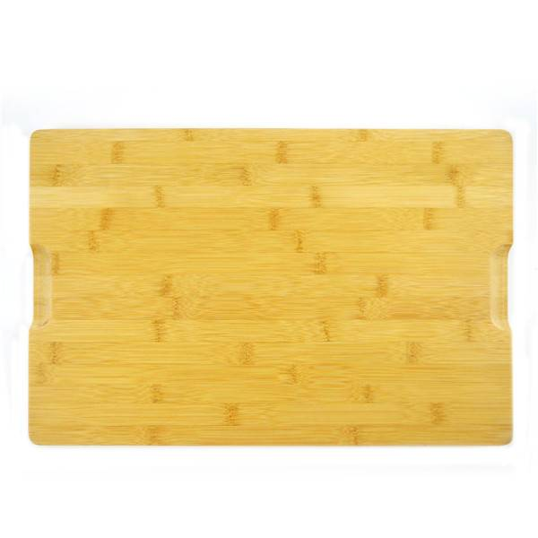 Best Price for Pizza Round Board - Wholesale Premium Organic Bamboo Chopping Board Drip Groove  Extra Large Size Cutting Board 45cm x 30cm x 2cm. Best for Meat, Vegetables and Cheese. Professional...