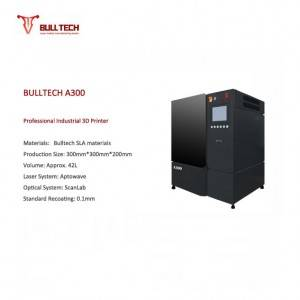 Hot New Products Steel 3d Printer - A300  – Bulltech