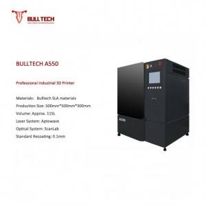 OEM/ODM China Industrial Slm 3d Printer - A550  – Bulltech