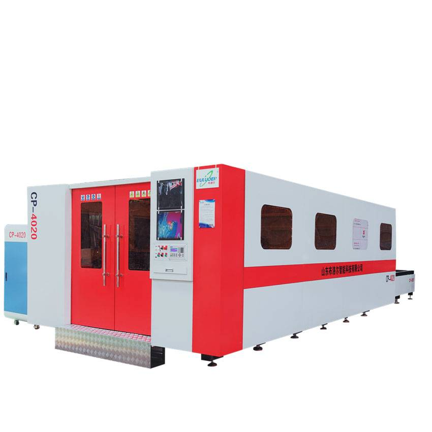 Ordinary Discount Fiber Laser Cutting Systems - CP series fiber laser cutting machine – Buluoer detail pictures