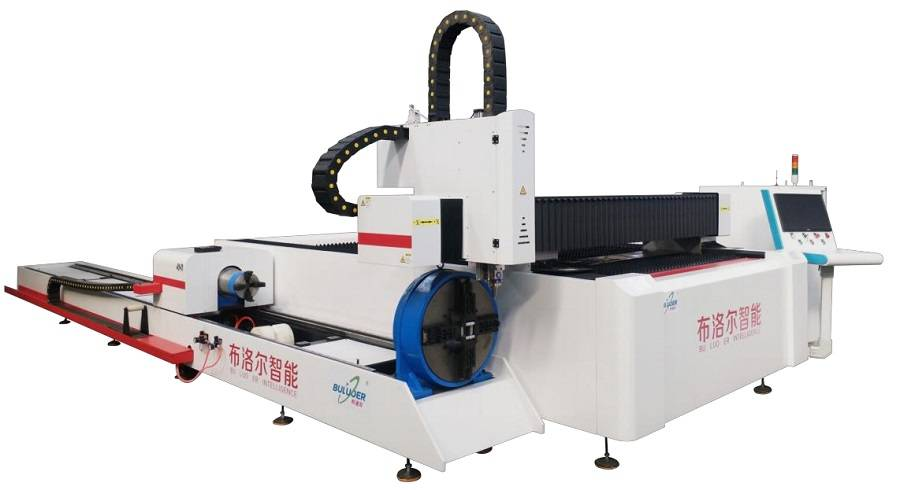 How efficient is the operation of the fiber laser cutting machine?