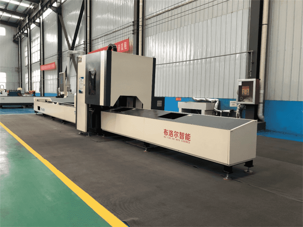 Pipe laser cutting machine processing speed, high precision