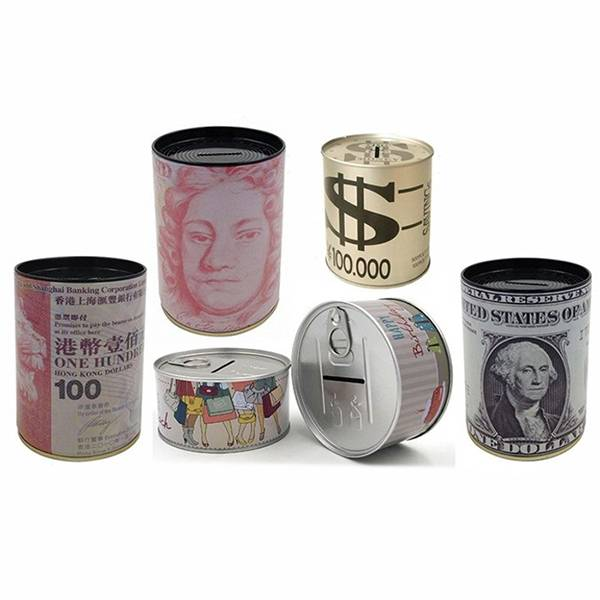 OEM/ODM Supplier Large Tin Boxes With Hinged Lids - Custom Steel Coin Bank – China Manufacturer of Metal money box – Byland Featured Image