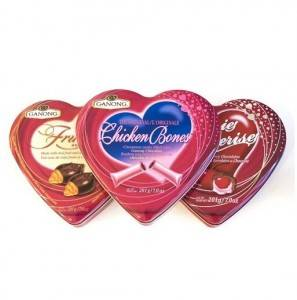 Best Price for Tin Jewelry Box - Heart Tin Packaging / Valentine's Tin Boxes – Byland