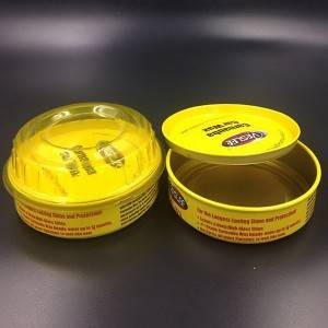 Metal Tin Cans-Container for packaging Car Wax and Polish