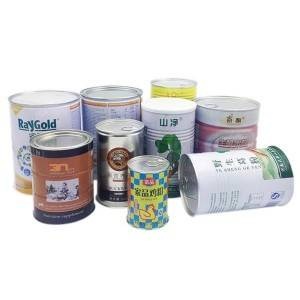 Ring-pulled tin can for packaging nutritions and formula_milk powder