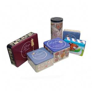 Square and Rectangle Tin box for Gift Packaging