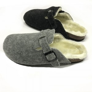 Factory For China Wholesale Fashionable Women Fur Slippers Slides Fur with Logo Customized