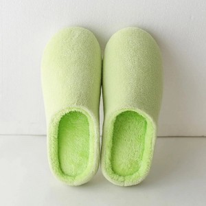 Best quality China Fashion Plush Home Winter Ladies Women′s Slipper HS206920