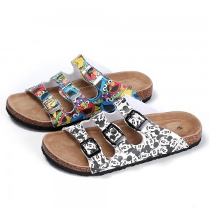 ODM Factory China Women′s Sandals Design Custom 2020 Ladies Platform for Lady Slipper Slides Sandals with Beautiful Ornaments