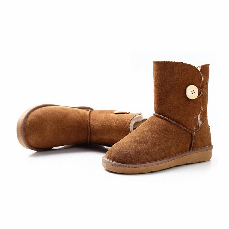 2020 High quality Cork Sandal Boys - Good quality classical micro suede upper girls women winter warm snow boots – BYRING
