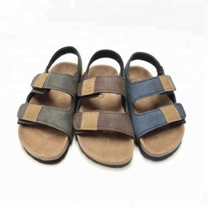 2020 High quality Model Sandals For Boys - Boys sandals with comfortable design children cork sole sandals – BYRING