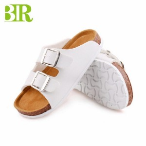 Comfortable new style cork sole EVA outsole outdoor slippers Sandals for children boys