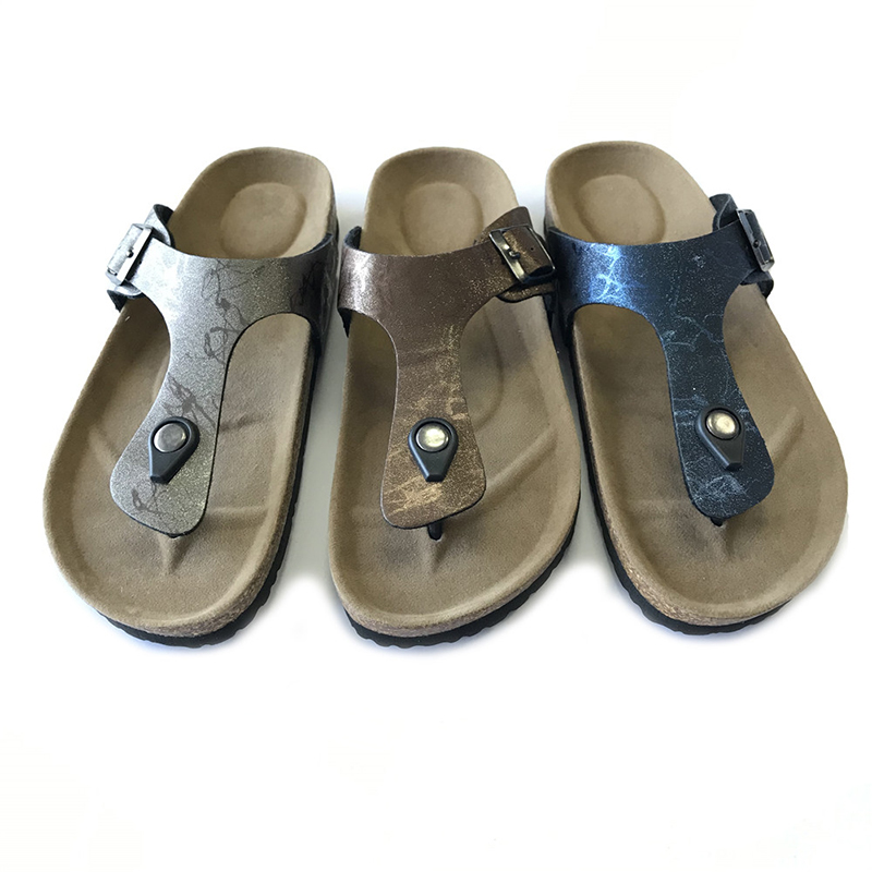 Classic casual comfort thong sandal with cork footbed for lady Featured Image
