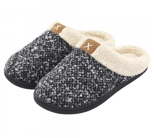 Factory Hotsale High Quality Women and Men's Memory Foam Indoor Slippers Home Shoes