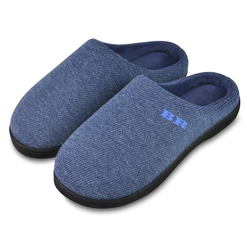 Wholesale Prime Quality Men's Memory Foam Indoor Slippers with Comfortable Foot-bed Featured Image