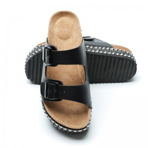 Chinese wholesale China Men Outdoor Desinger Slippers with Buckles