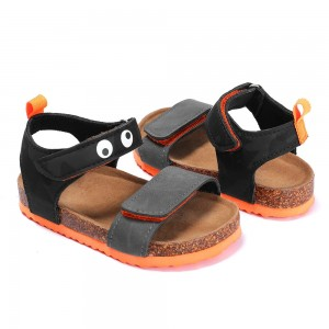 2021 New Design Hot-sale Outdoor Adjustable Hook & Loop Closure Straps Cute Sandals Boys Toddler Kids