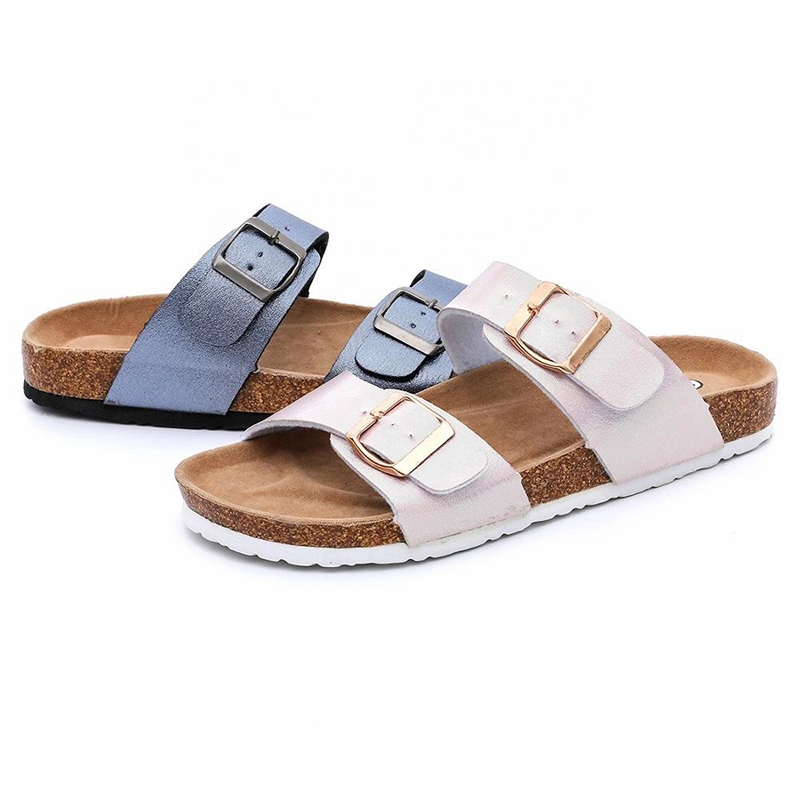 Factory directly supply Slippers In Cashmere - Hotsale Fashion Women comfort Sandals for Summer with Bio Cork Sole Arch Support – BYRING