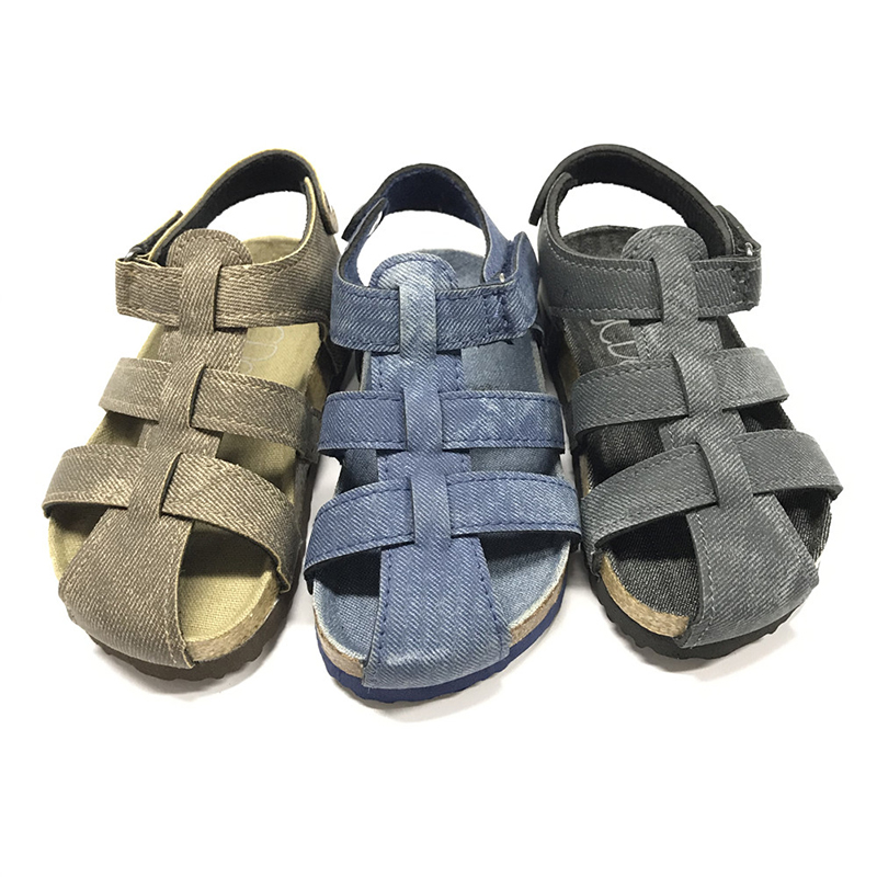 2020 High quality Model Sandals For Boys - Byring Shoes New Arrival Good Quality Buckle Strap Matching Insole Children Kids Boys Sandals – BYRING Featured Image