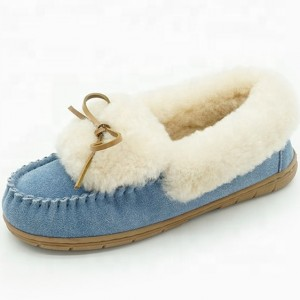 OEM Factory for China Autumn and Winter Home Outdoor Cross Fur Slippers Women Drag Home Comfortable Cotton Slippers
