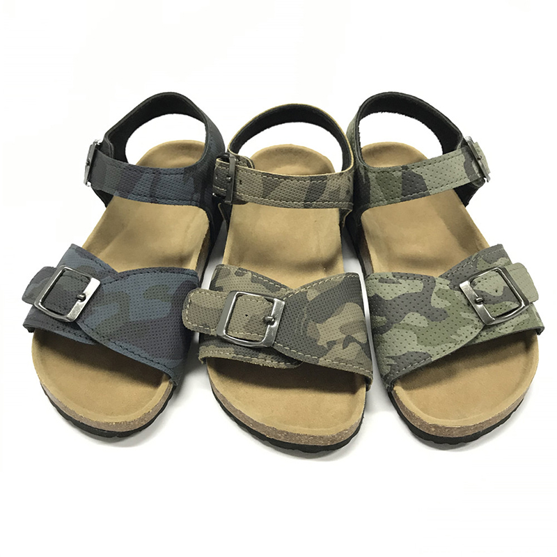 Byring Shoes Boys Sandals With Comfortable Design Cork Foot Bed Sole Comfort Featured Image