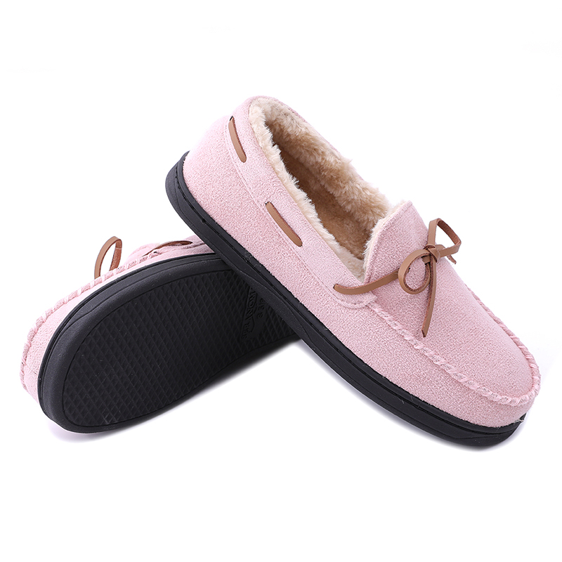 Good quality Toddler Slippers - Classic moccasin-style slip-on women's comfortable Slipper – BYRING Featured Image