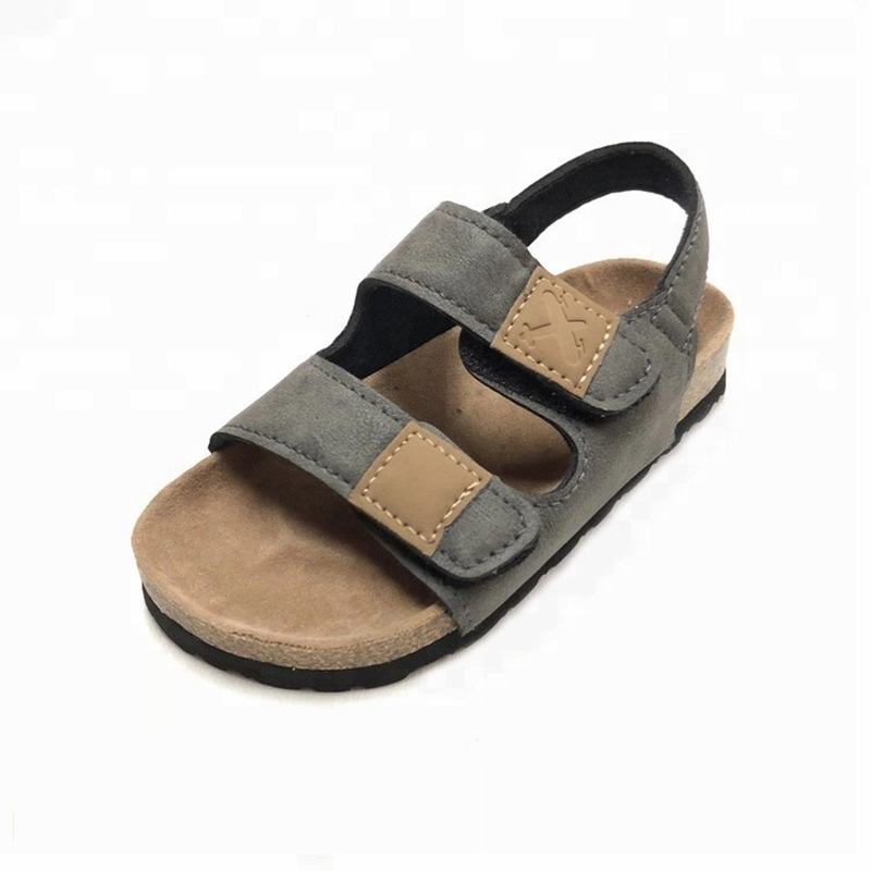 Cheap PriceList for Leather Sandals - Boys sandals with comfortable design children cork sole sandals – BYRING