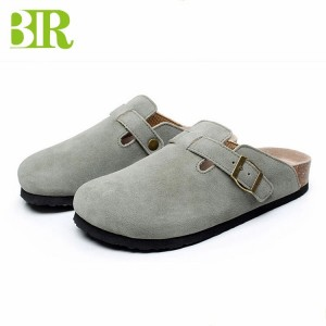 Manufacturer of Comfortable Women Slippers - New Design Soft Sandal Men Cork Clogs Footbed Comfort Sandals BRS08 – BYRING