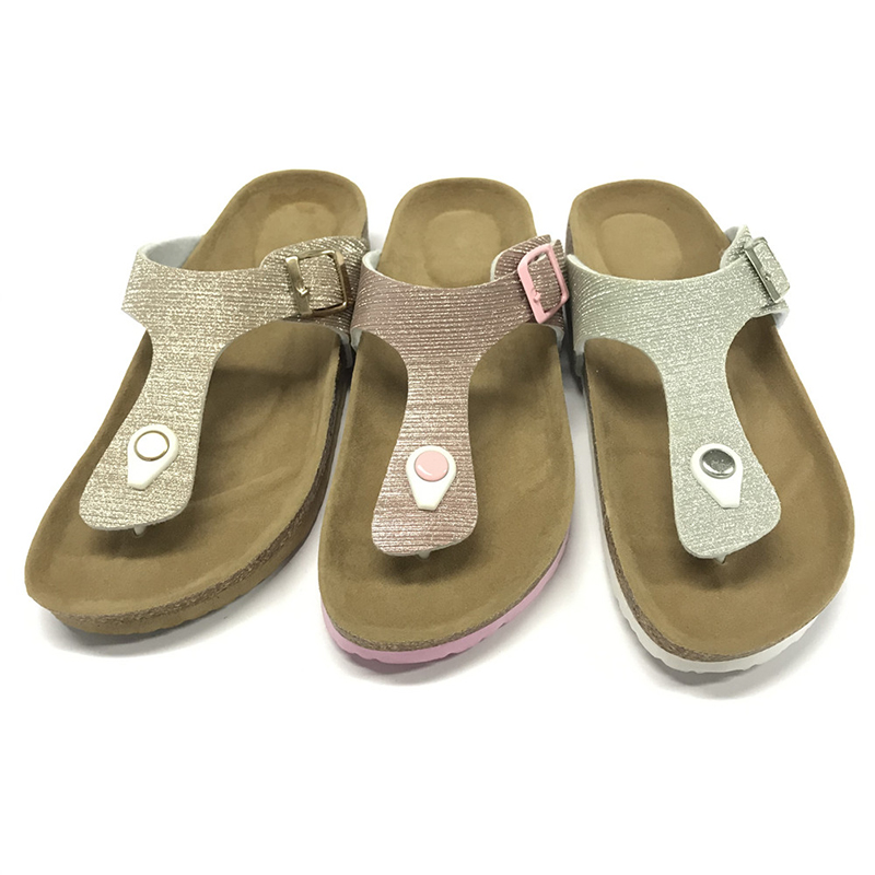 High Quality for Comfortable Sandals - Byring Shoes Fashionable Summer Women's thong sandals with Comfortable Foot Bed Insole – BYRING Featured Image