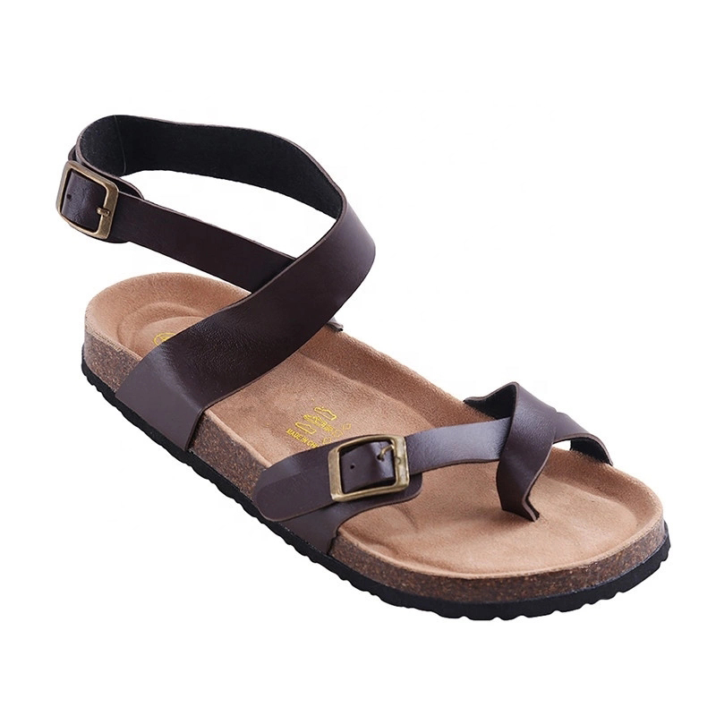 New design Fashion Women ladies girls Summer Ankle Strap Bio Sandals with Cork Arch Support Insole Featured Image