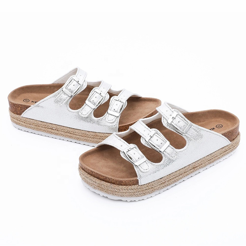 OEM/ODM China Girls Soft Fleece Indoor Slippers - Wholesale Platform footbed high heel Sandals for women and ladies – BYRING
